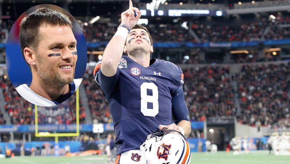 Jarrett Stidham könnte bei den New England Patriots der Nachfolger von Tom B... - Bildquelle: imago/ZUMA Press