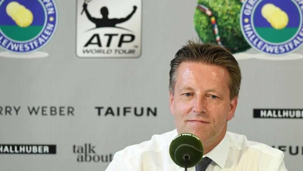 Sieht keine Gefahr für das ATP-Turnier: Ralf Weber - Bildquelle: AFPSIDCARMEN JASPERSEN
