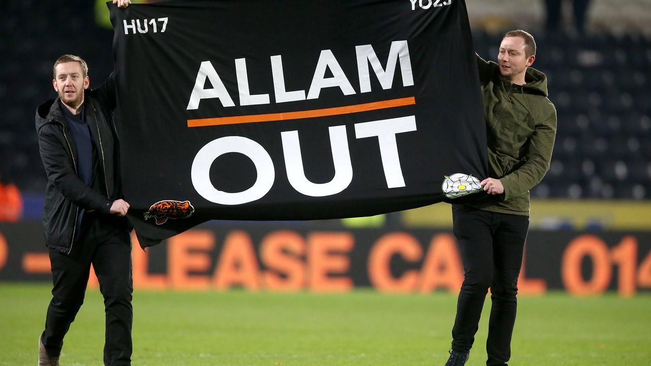 Hull City: Investor brachte Fans gegen sich auf - Bildquelle: imago/PA Images