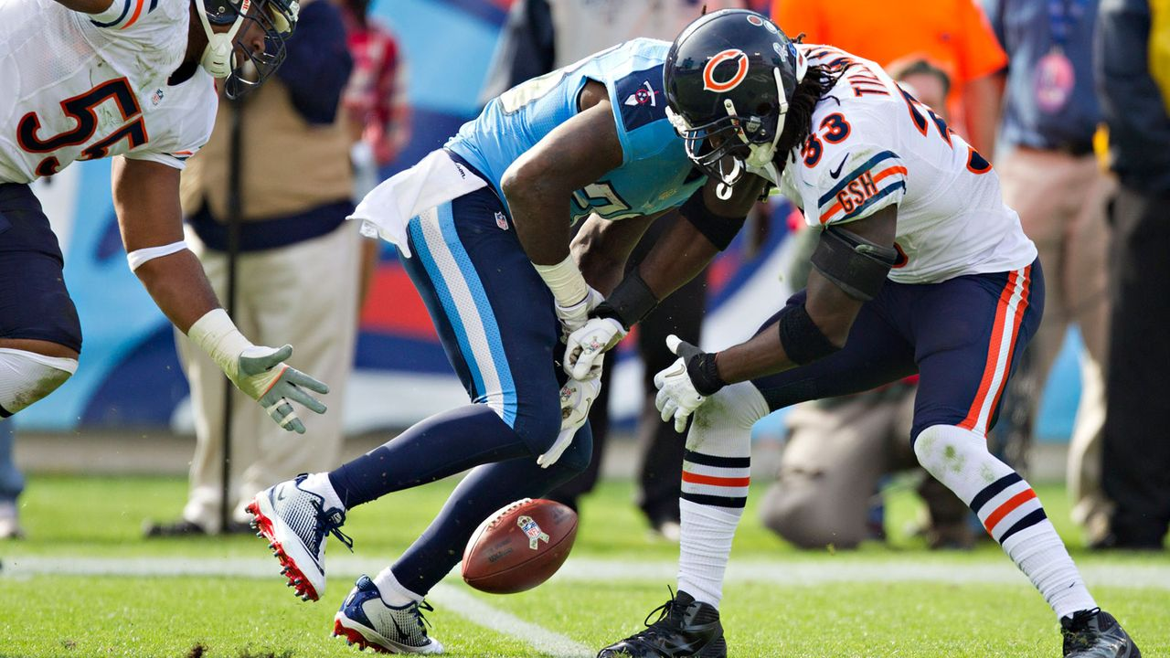 Die meisten Forced Fumbles - Bildquelle: 2012 Getty Images