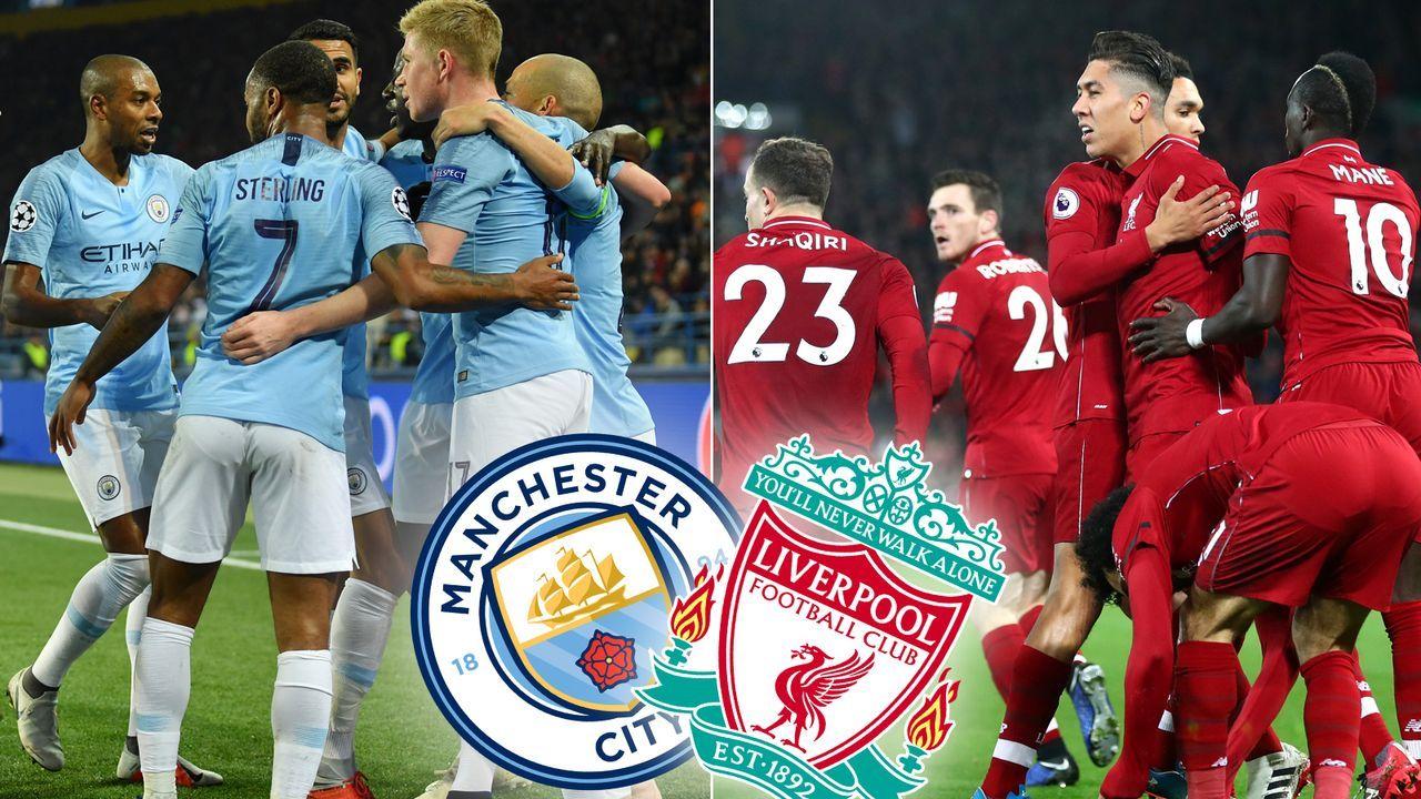 Spitzenduell Mancity Vs Liverpool Im Head To Head