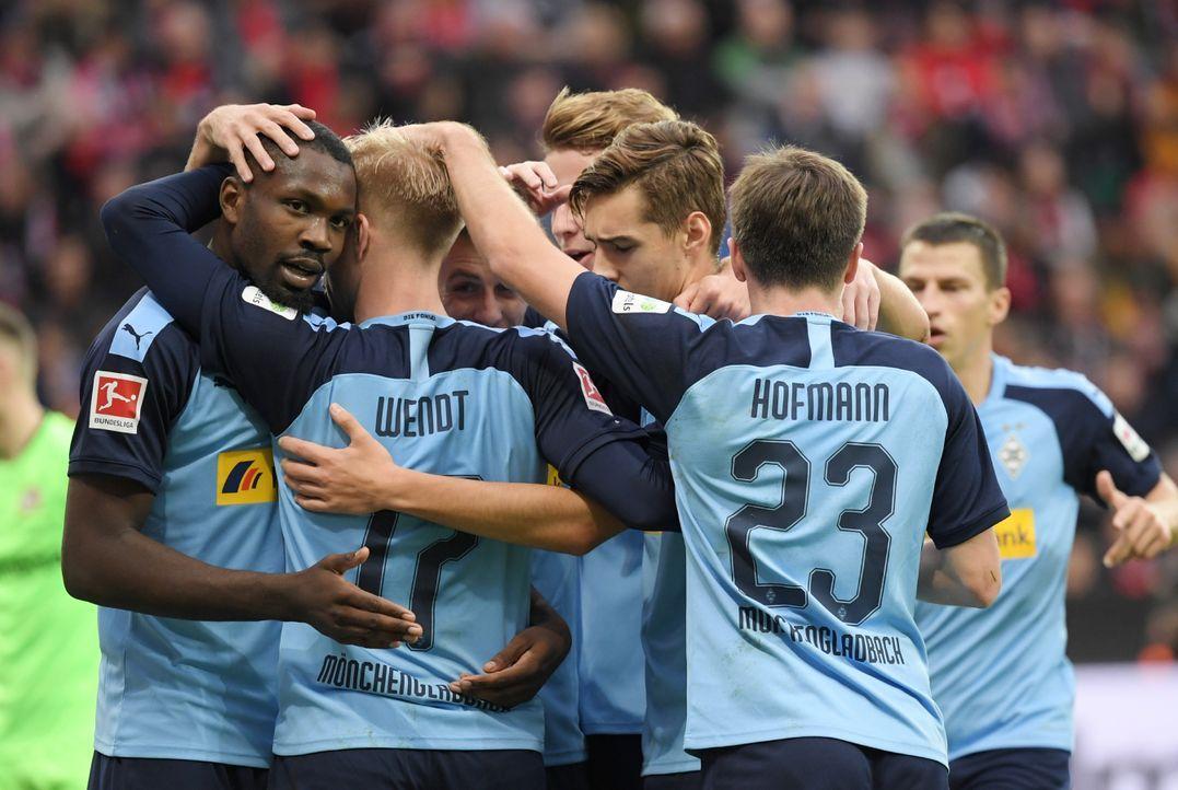 5. Platz: Borussia Mönchengladbach  - Bildquelle: imago