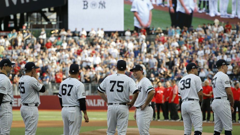 New York Yankees gewinnen beide Spiele gegen Boston - Bildquelle: AFPSIDTOLGA AKMEN