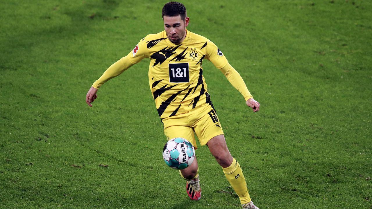 Mittelfeld: Raphael Guerreiro (Borussia Dortmund) - Bildquelle: 2021 Getty Images