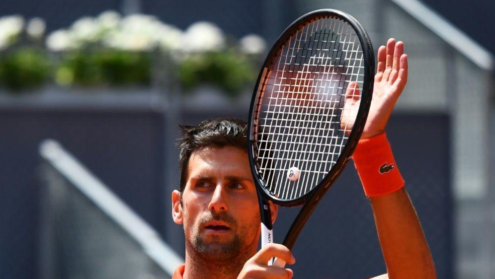 Erreichte kampflos das Halbfinale: Novak Djokovic - Bildquelle: AFPSIDGABRIEL BOUYS
