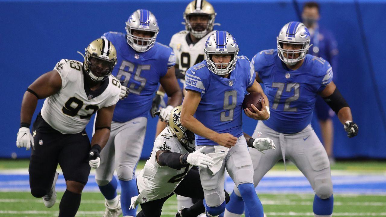 Verlierer: Detroit Lions - Bildquelle: 2020 Getty Images