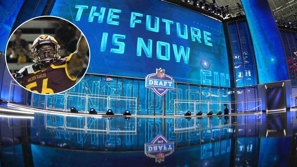 Kahzin Daniels (eingeklinkt): Was ist im Draft möglich?