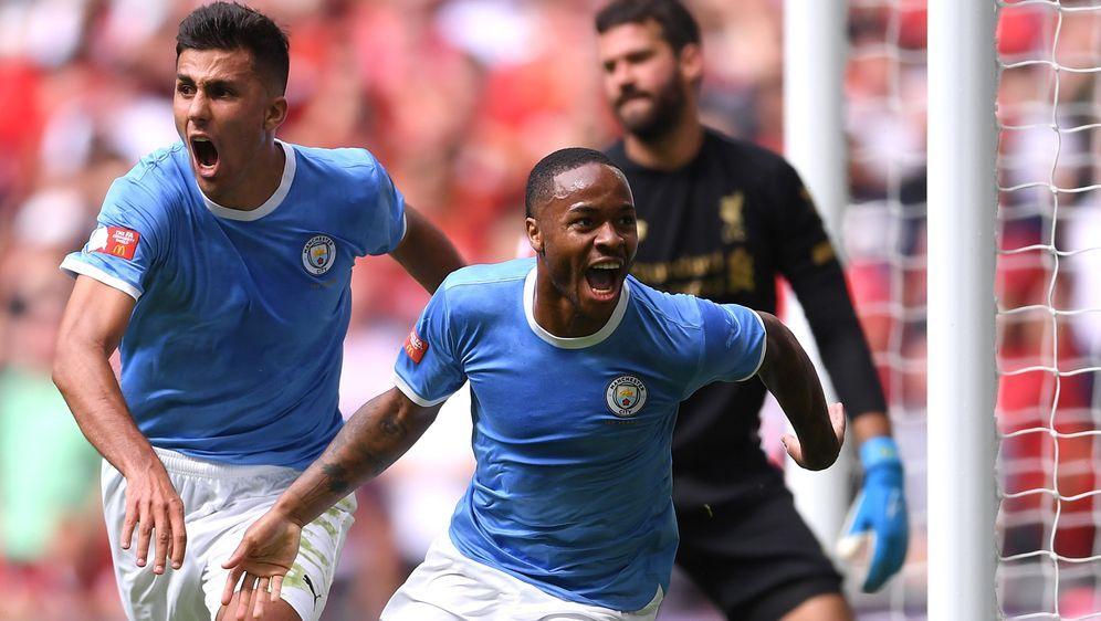 Manchester City jubelt über den Sieg im Community Shield - Bildquelle: Getty Images