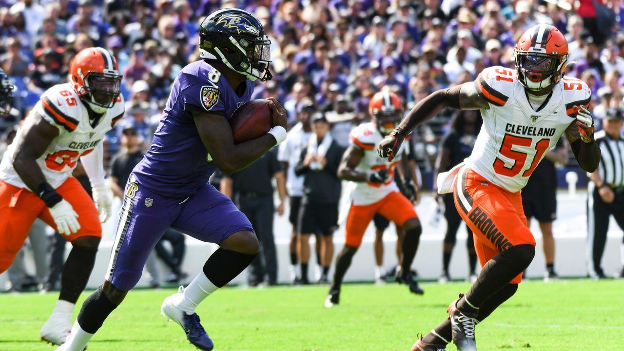 Cleveland Browns at Baltimore Ravens - Bildquelle: imago images/Icon SMI