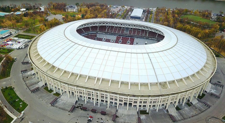1. Luzhniki-Stadion (Moskau) - Bildquelle: imago/ZUMA Press