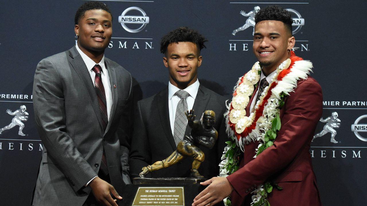 Zweiter bei der Wahl zur Heisman-Trophy - Bildquelle: imago/ZUMA Press