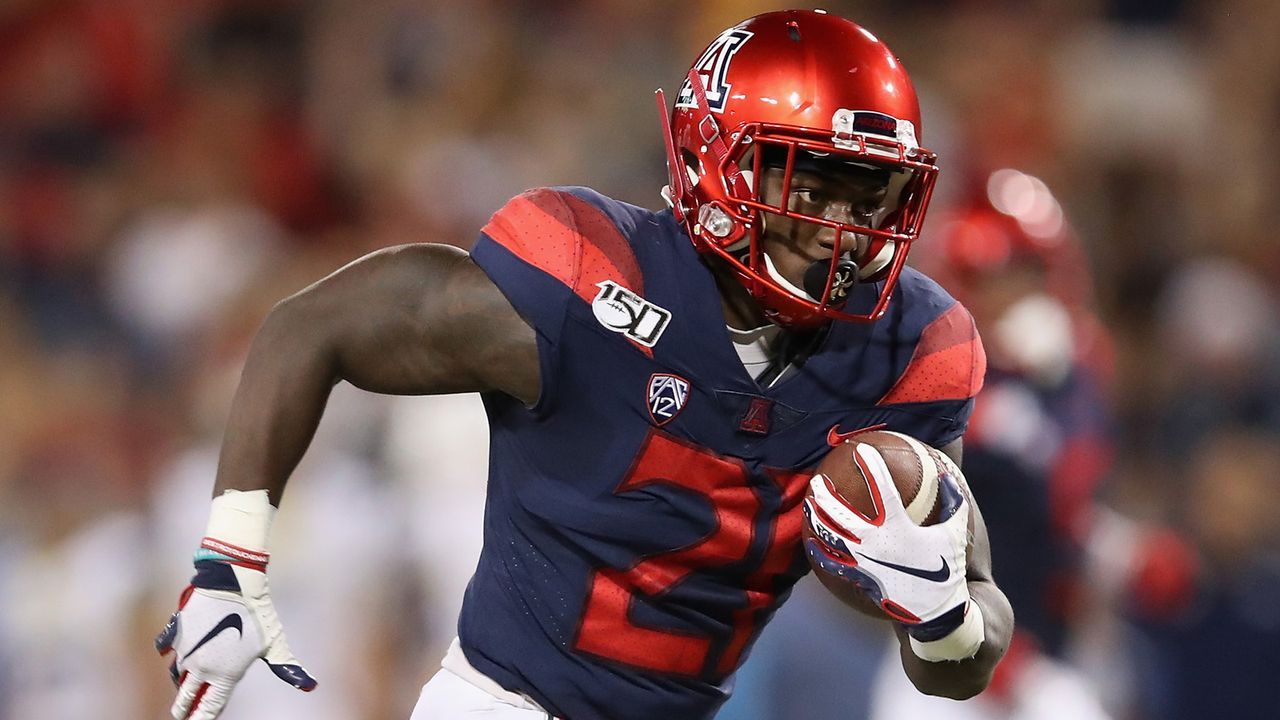 J.J. Taylor (Arizona Wildcats) - Bildquelle: 2019 Getty Images
