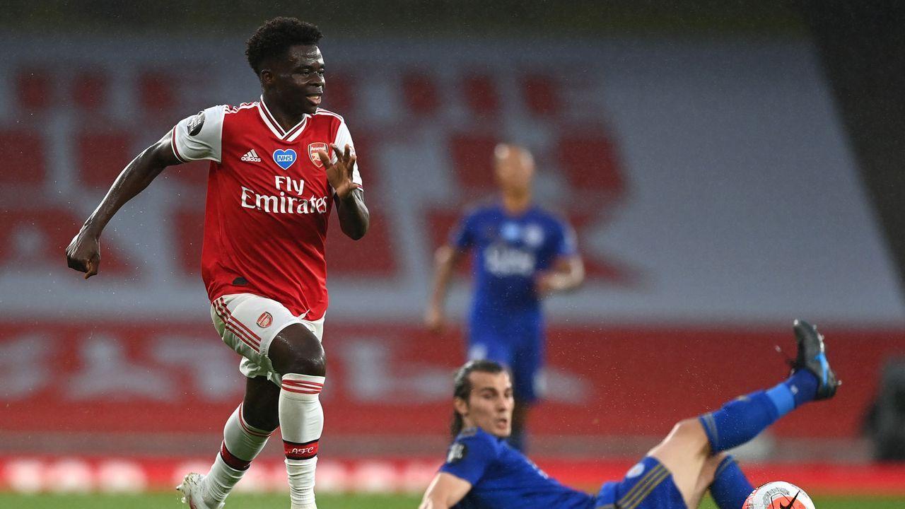 Bukayo Saka (FC Arsenal) - Bildquelle: 2020 Getty Images