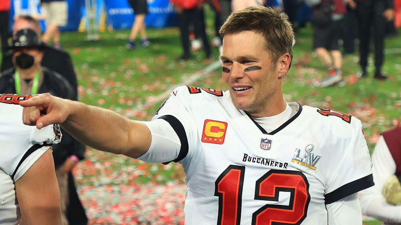 Platz 9: Tom Brady (American Football) - Bildquelle: Getty Images
