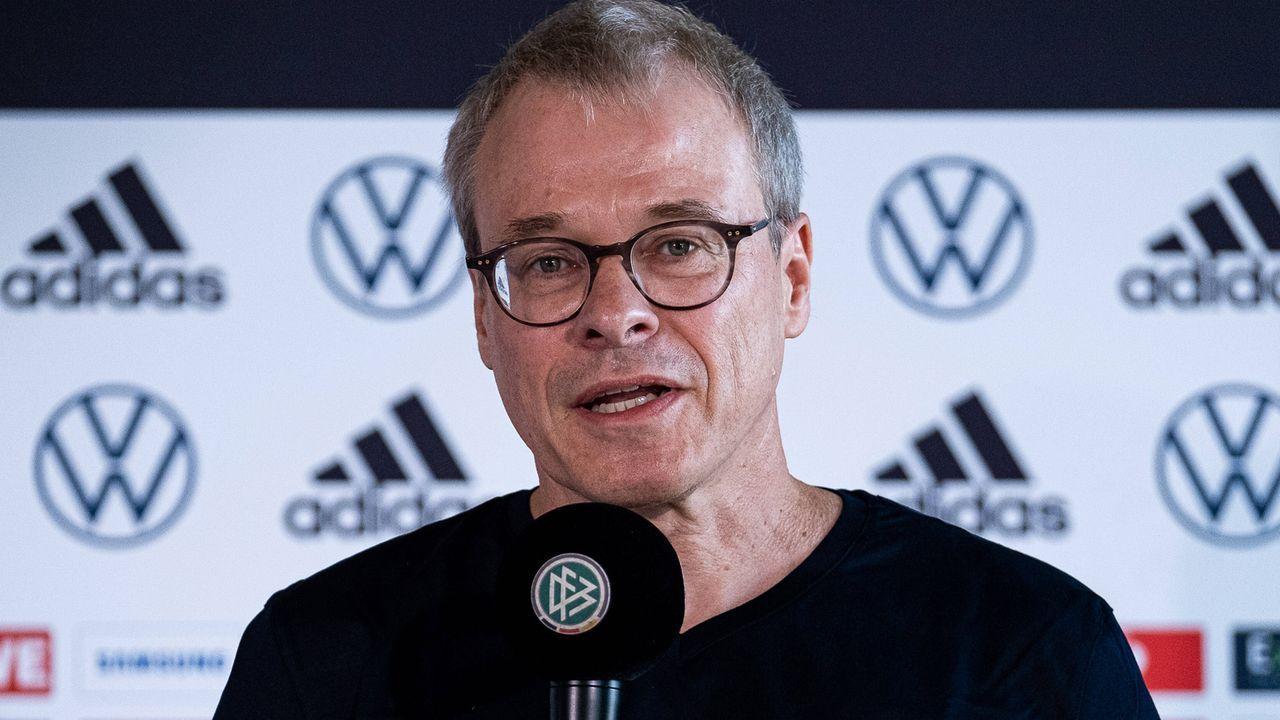Peter Peters (DFB-Co-Interims-Präsident) - Bildquelle: Thomas Boecker/DFB via EIBNER/Sascha Walther