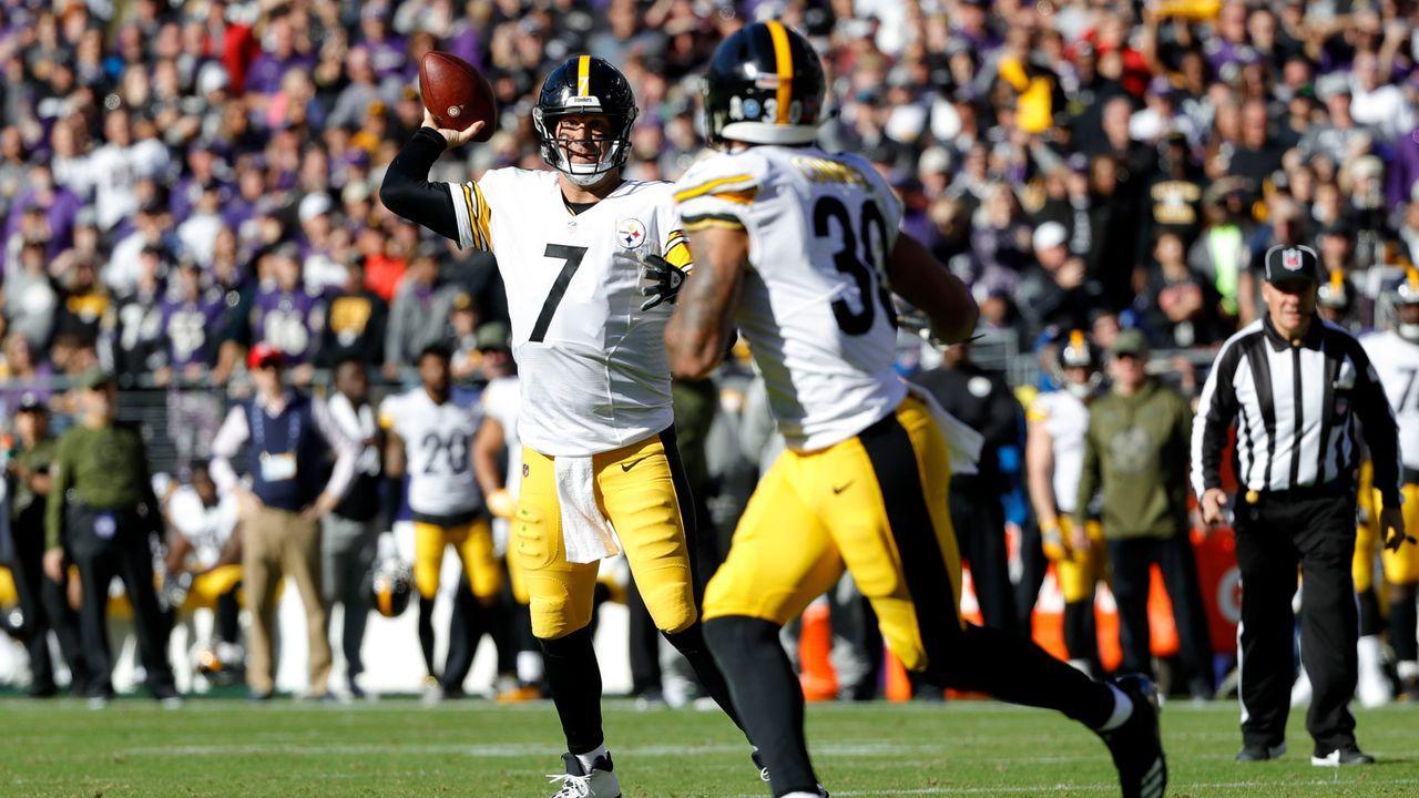 22. Duell: Steelers mit letztem Sieg über die Ravens - Bildquelle: 2018 Getty Images