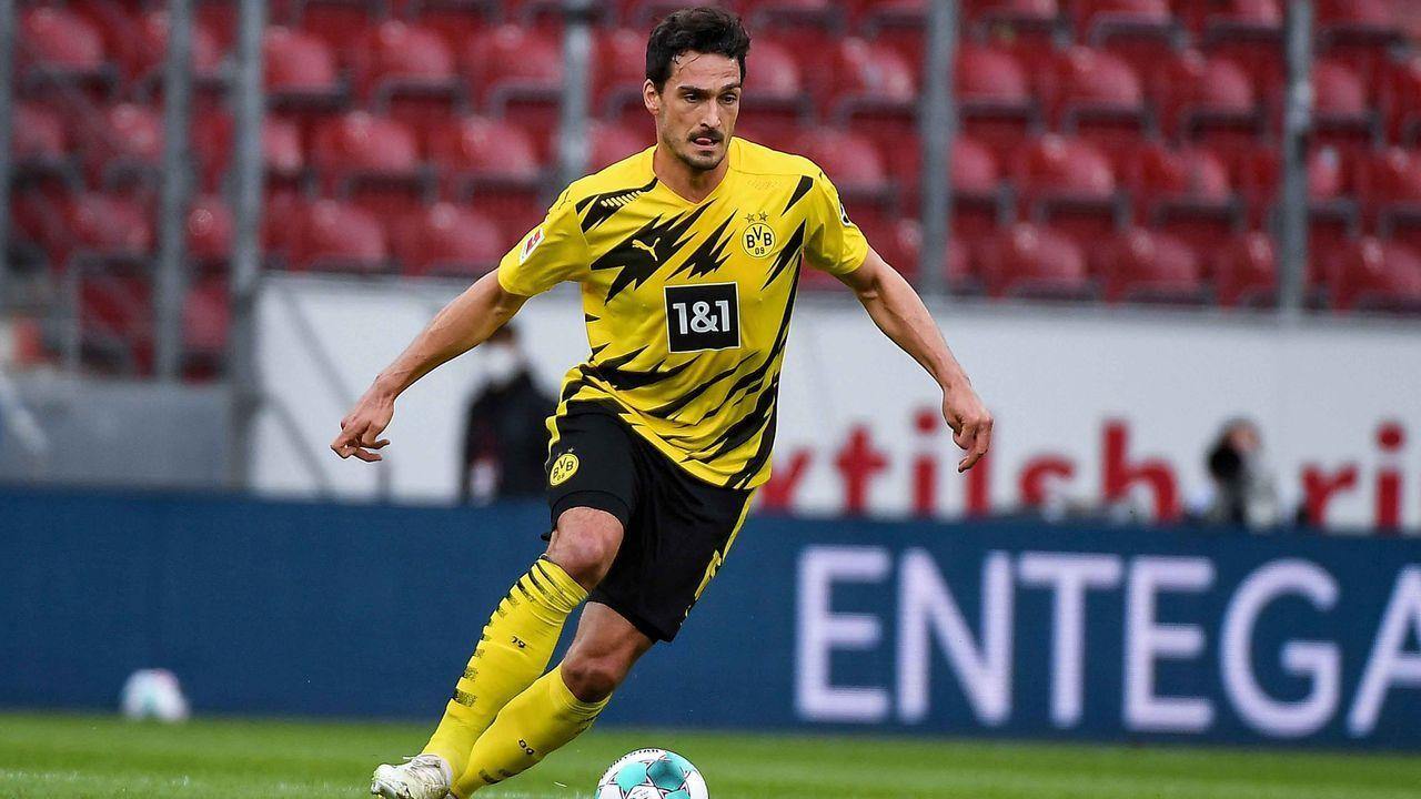 Platz 2: Borussia Dortmund (zehn Spieler) - Bildquelle: imago images
