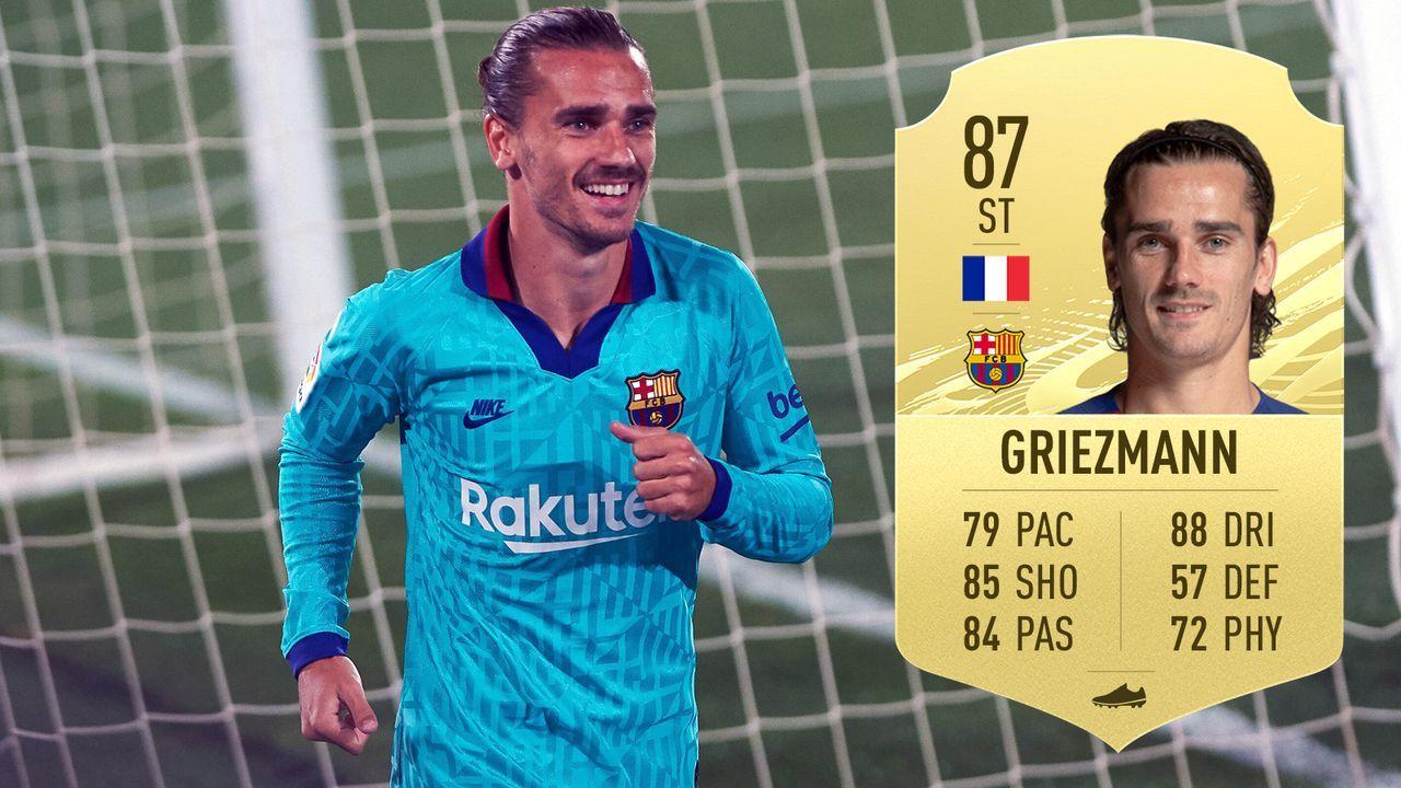 Antoine Griezmann (FC Barcelona/Frankreich) - Bildquelle: imago images/ZUMA Wire/EA Sports