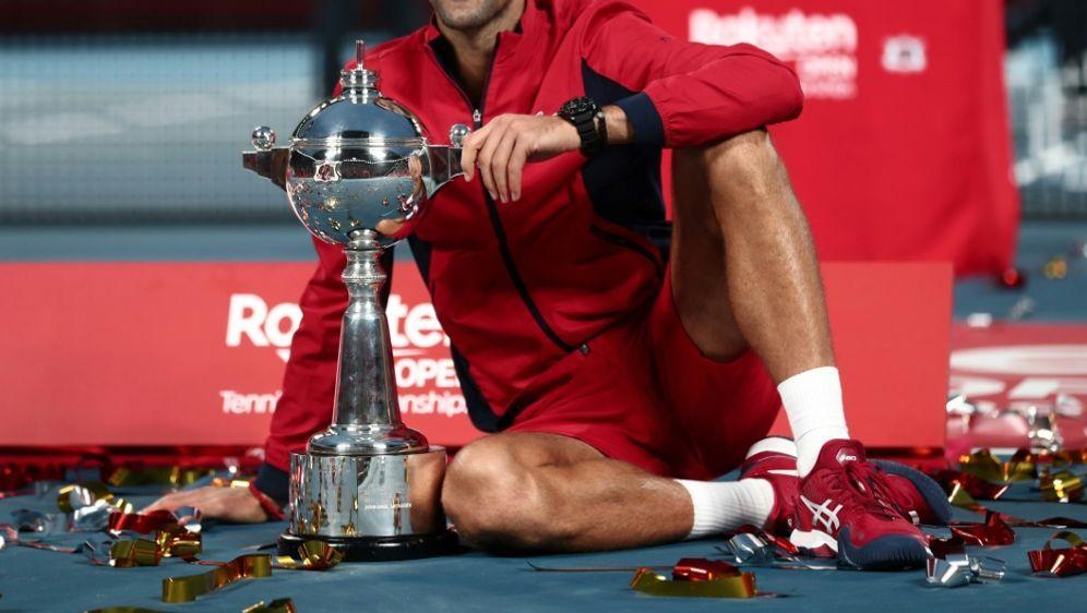 Novak Djokovic gewann das Turnier im letzten Jahr - Bildquelle: AFPSIDBEHROUZ MEHRI