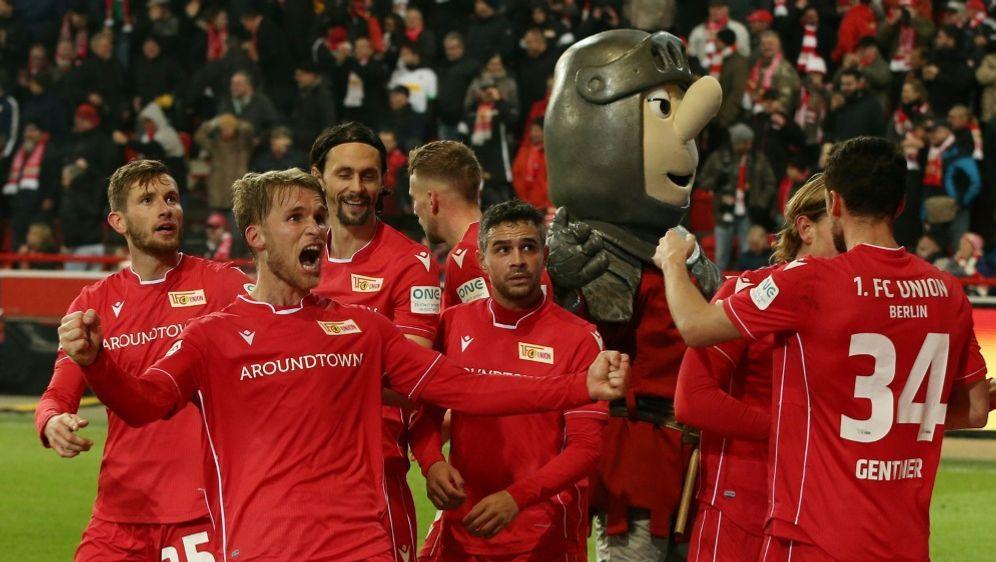 Union Berlin siegte im Aufsteiger-Duell gegen Köln - Bildquelle: PIXATHLONPIXATHLONSID