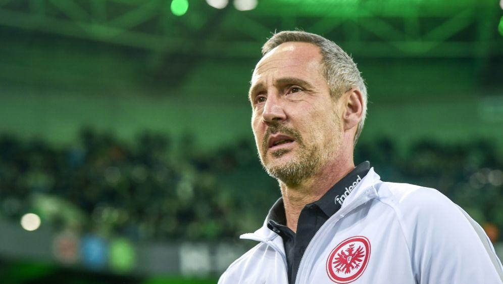 Adi Hütter und Eintracht Frankfurt empfangen Wolfsburg - Bildquelle: PIXATHLONPIXATHLONSID