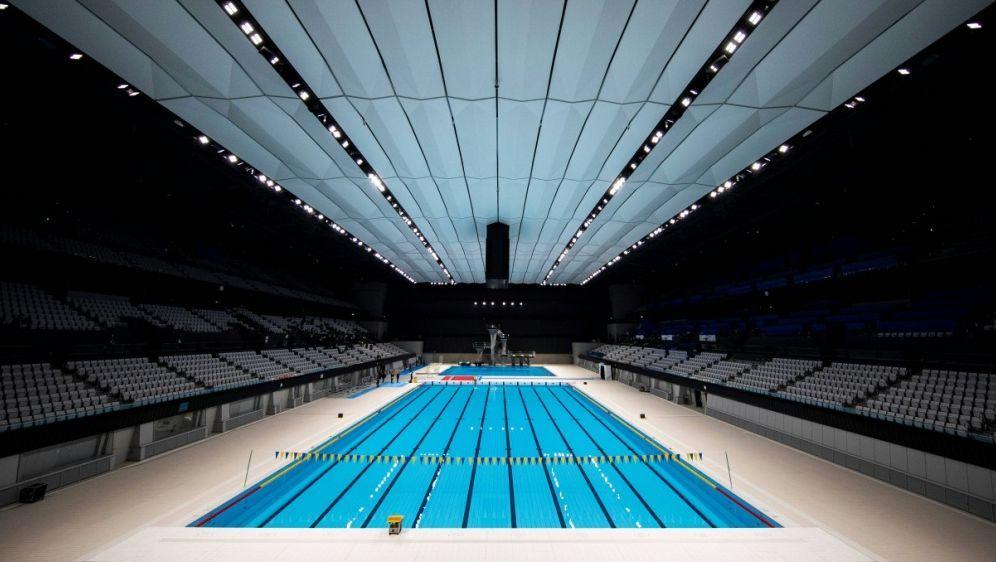 Olympische Schwimm-Arena eröffnet - Bildquelle: AFPSIDBEHROUZ MEHRI