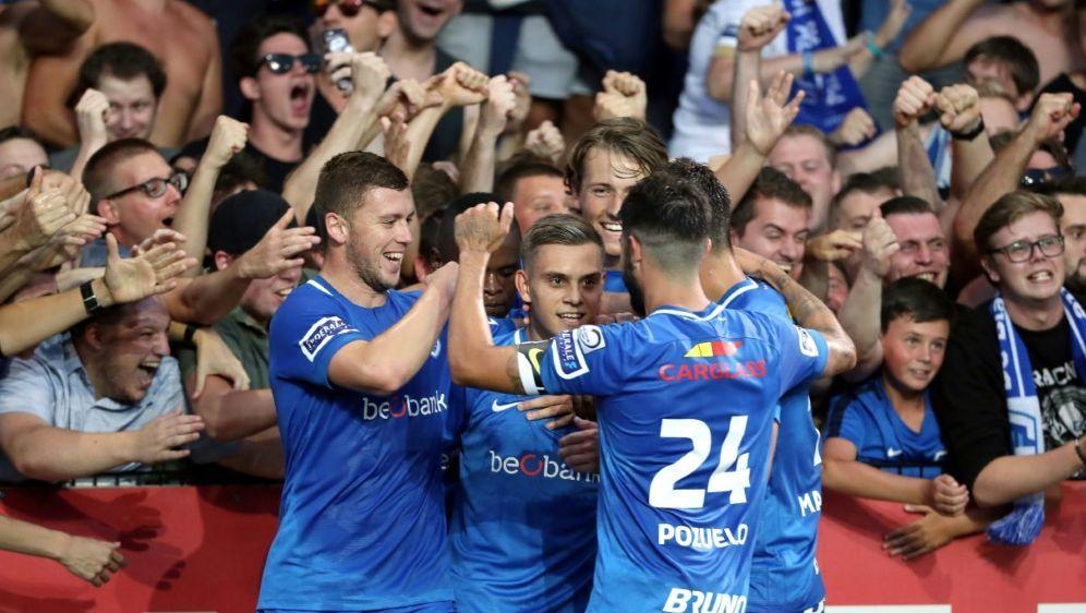 Genk sicherte sich am vorletzten Spieltag den Titel - Bildquelle: PIXATHLONPIXATHLONSID