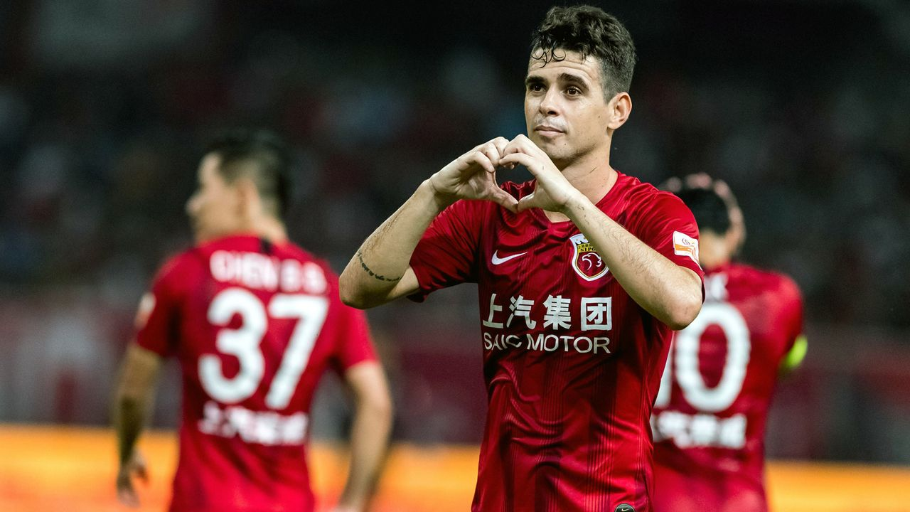 Oscar (Shanghai SIPG) - Bildquelle: imago images / Imaginechina