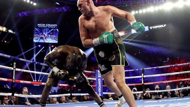 Boxen - Gipsy King bleibt König: Tyson Fury besiegt Deontay Wilder durch technischen K.o.