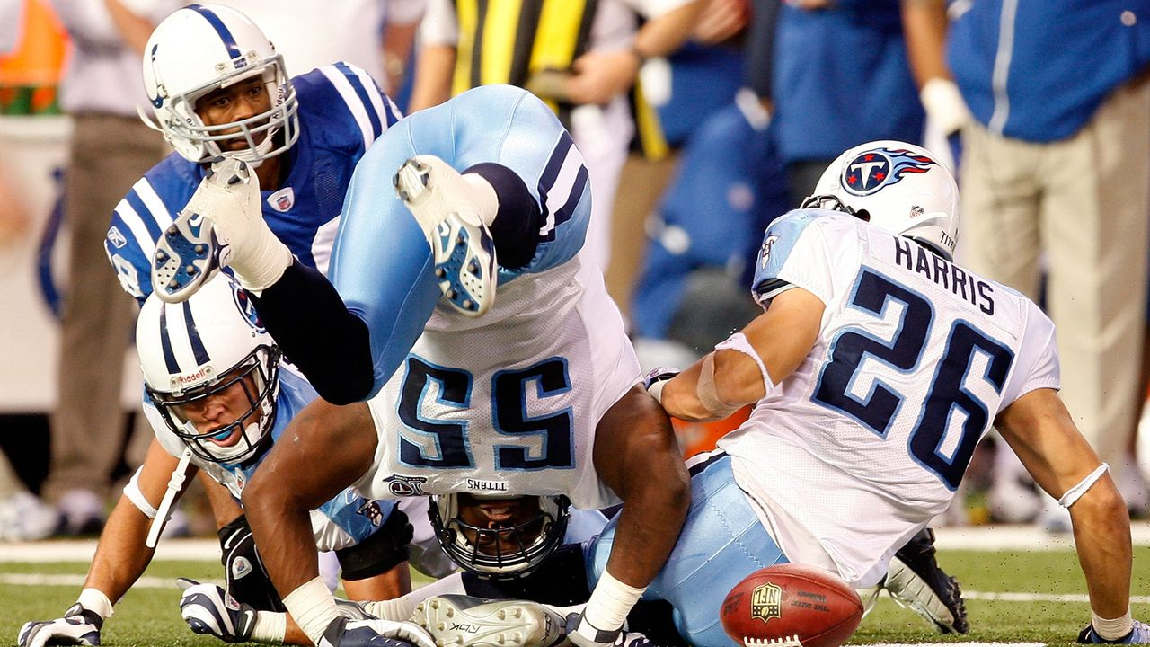Tennessee Titans at Indianapolis Colts - 2 Stunden 33 Minuten - Bildquelle: 2008 Getty Images