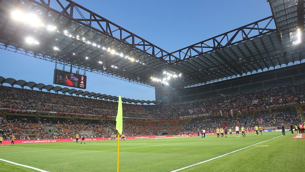 Das Giuseppe-Meazza-Stadion ist die bisherige Heimstätte der Serie-A-Klubs A... - Bildquelle: 2019 Getty Images