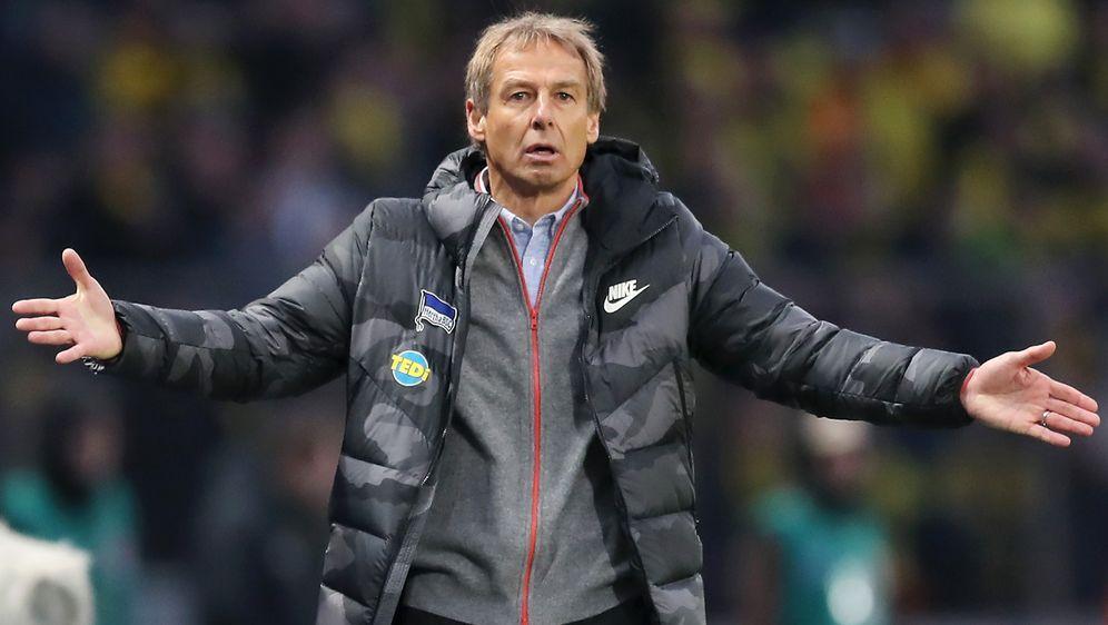 Hertha-Coach Jürgen Klinsmann bekam von seinem Ex-Klub Bayern München eine 0... - Bildquelle: 2019 Getty Images