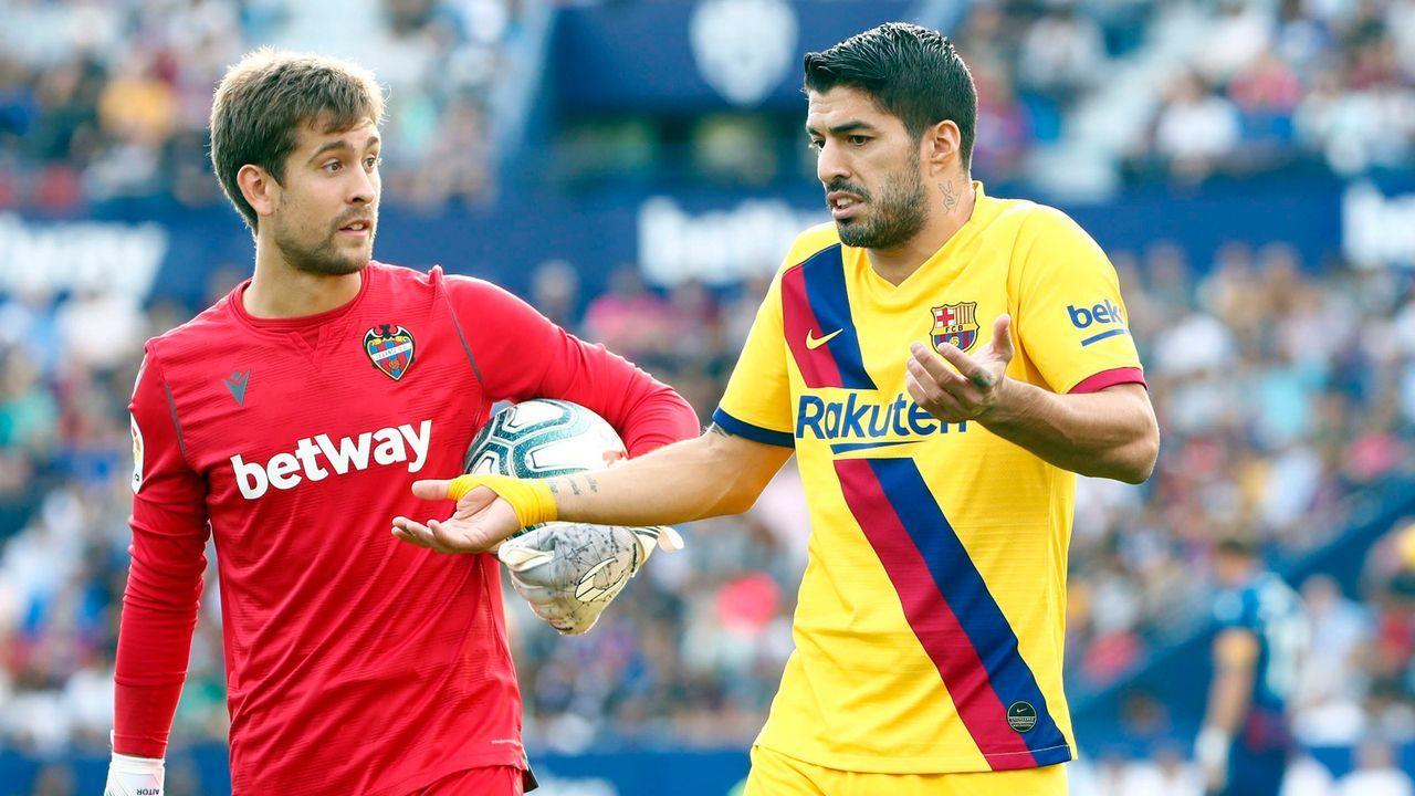 Levante-Keeper: Einsatz im Wahllokal statt in La Liga?  - Bildquelle: imago images/Marca