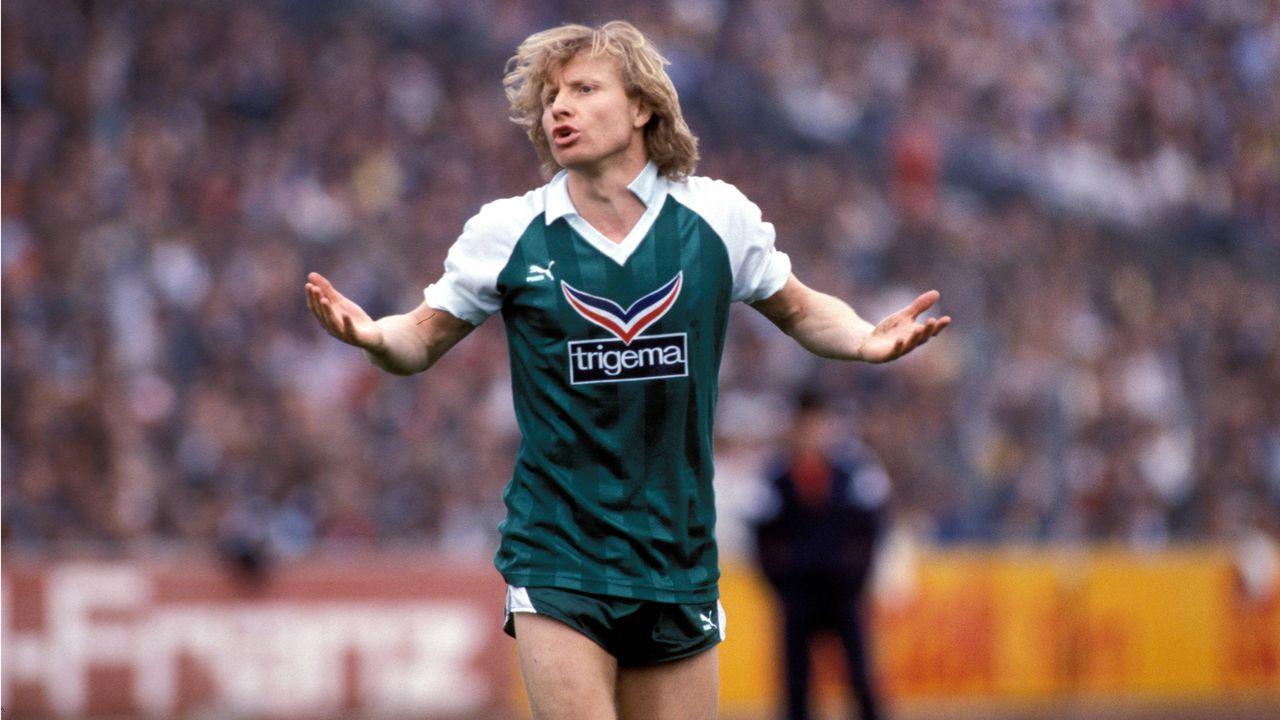 Platz 7 (geteilt): Allemania Aachen - Werder Bremen 7:6 n.E. (18 Elfmeter/ Saison 1986/1987) - Bildquelle: imago/Pressefoto Baumann
