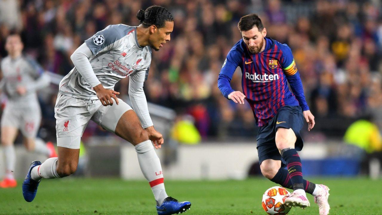 Van Dijk vs. Messi - oder doch ein anderer? - Bildquelle: 2019 Getty Images