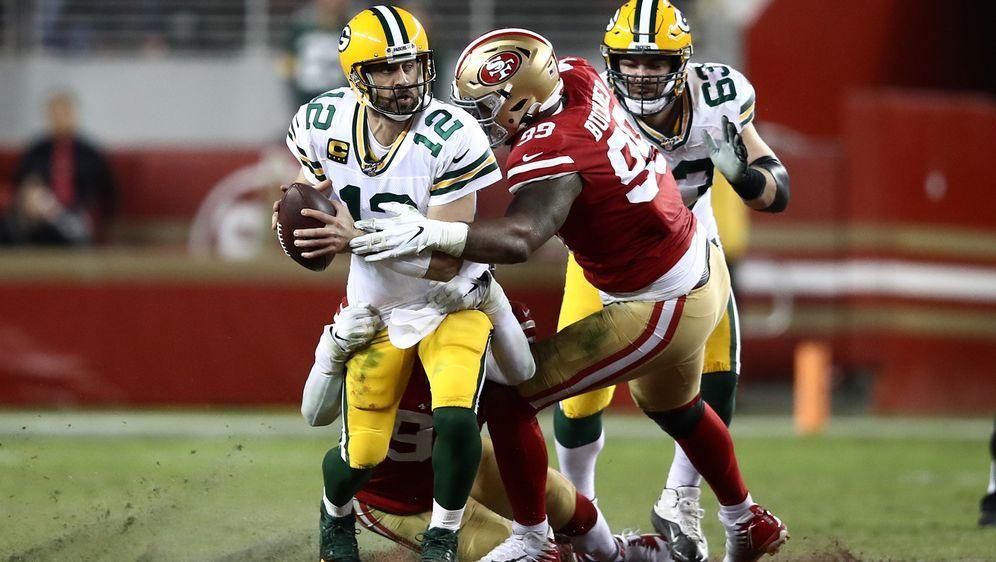 Aaron Rodgers und die Green Bay Packers verloren am 12. Spieltag der Regular... - Bildquelle: getty