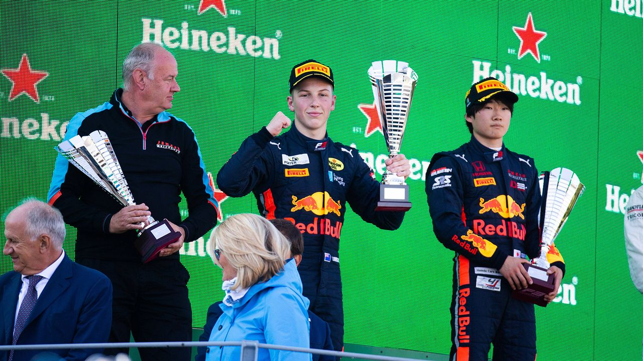 Liam Lawson (Hitech Grand Prix) - Bildquelle: Imago