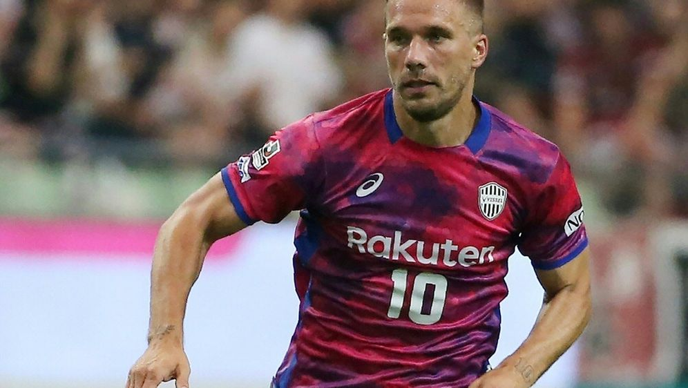 Lukas Podolski steckt mit Kobe weiter in der Krise - Bildquelle: JIJI PRESSJIJI PRESSSIDSTR