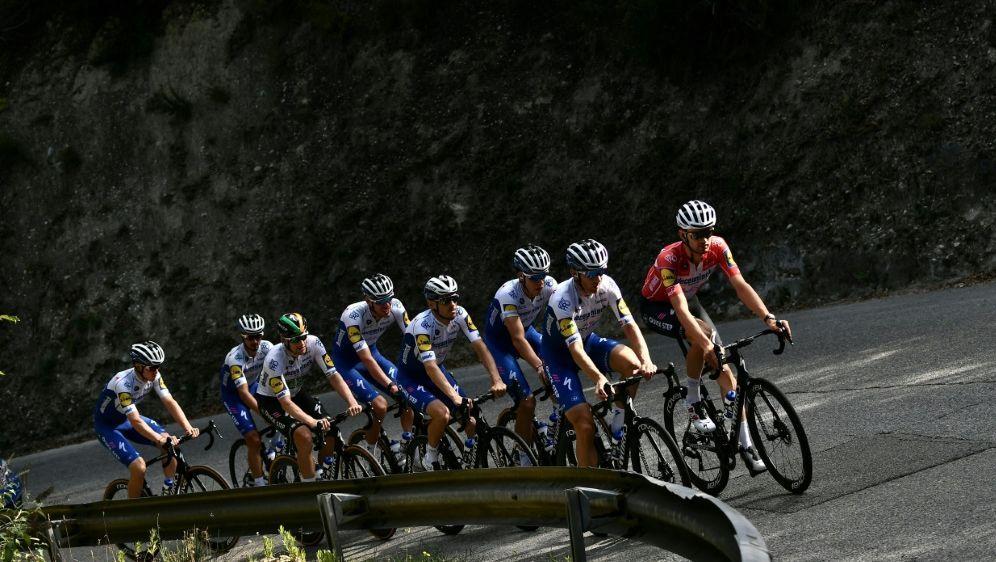 Eine komplett negative Testreihe beim Giro - Bildquelle: AFPSIDMARCO BERTORELLO