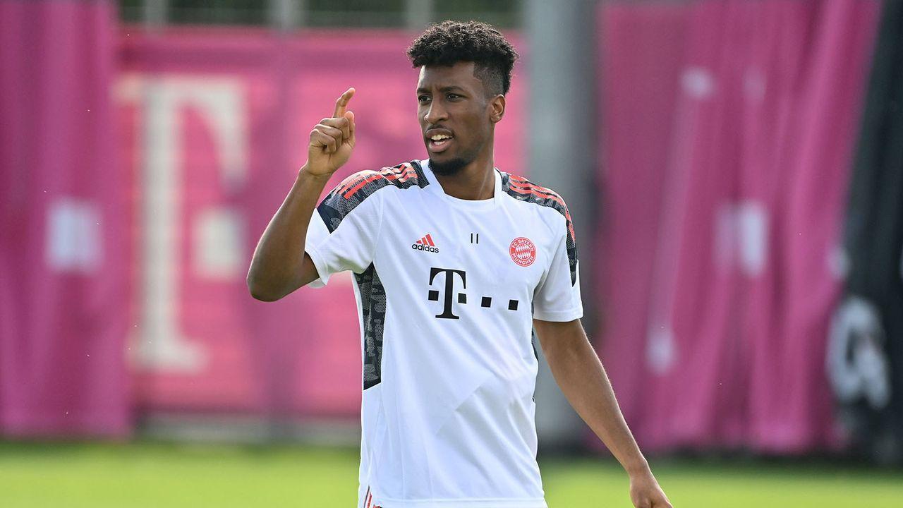 Kingsley Coman (FC Bayern München) - Bildquelle: Imago