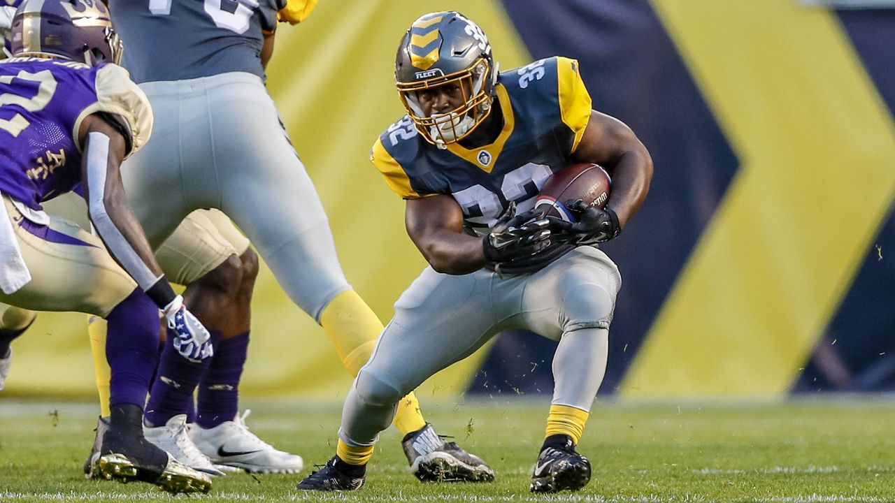 Ja'Quan Gardner (Running Back, San Diego Fleet) - Bildquelle: imago/ZUMA Press