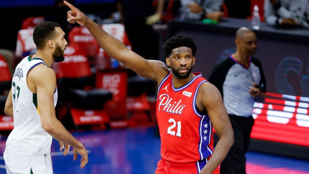 Joel Embiid (Philadelphia 76ers/Starter) - Bildquelle: Getty