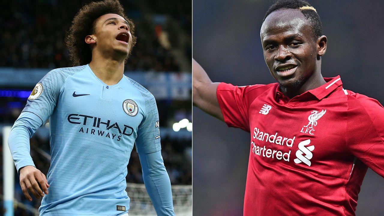 Linksaußen: Leroy Sane vs. Sadio Mane - Bildquelle: Getty