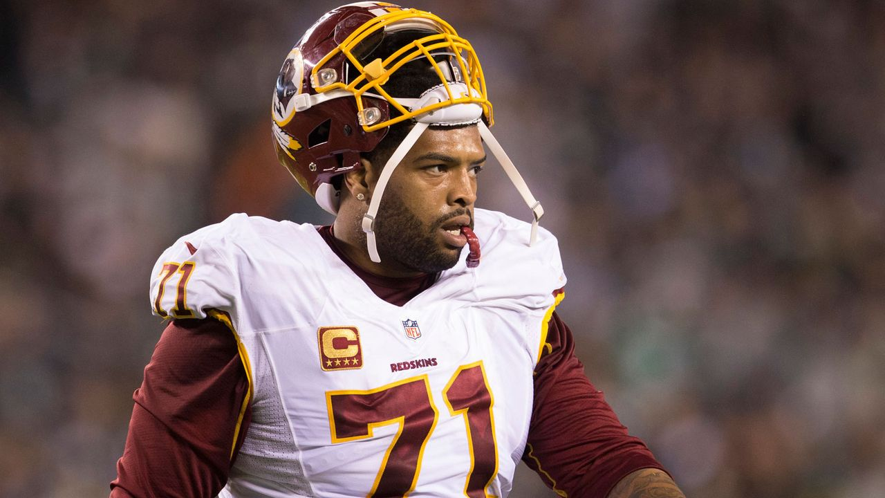 Platz 81: Trent Williams - Bildquelle: 2015 Getty Images