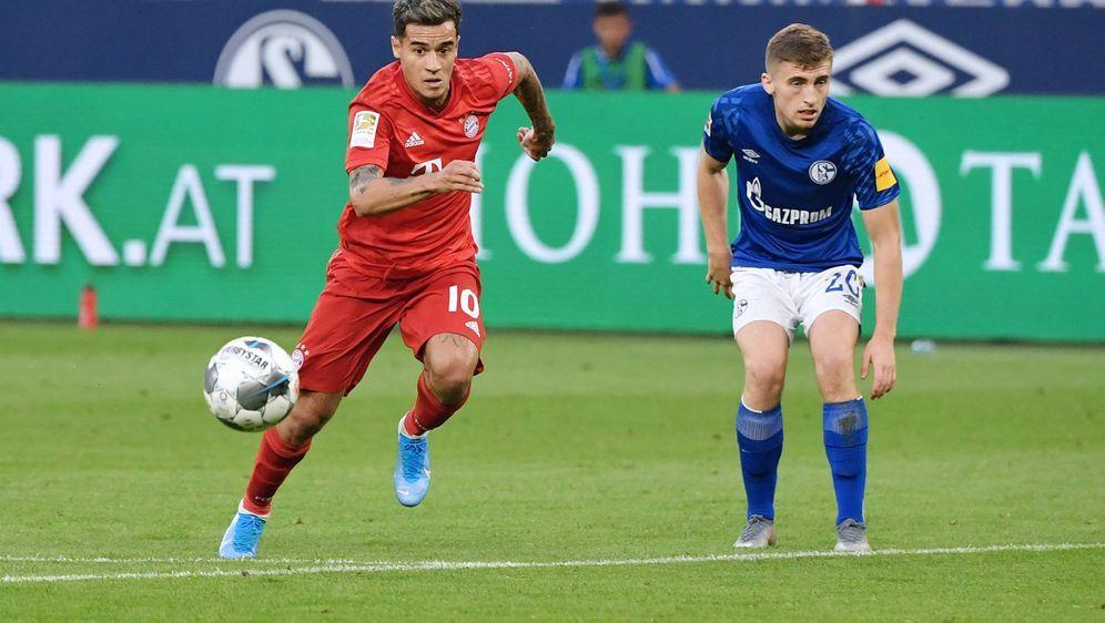 Philippe Coutinho kam in der 57. Minute für Thomas Müller. - Bildquelle: 2019 imago