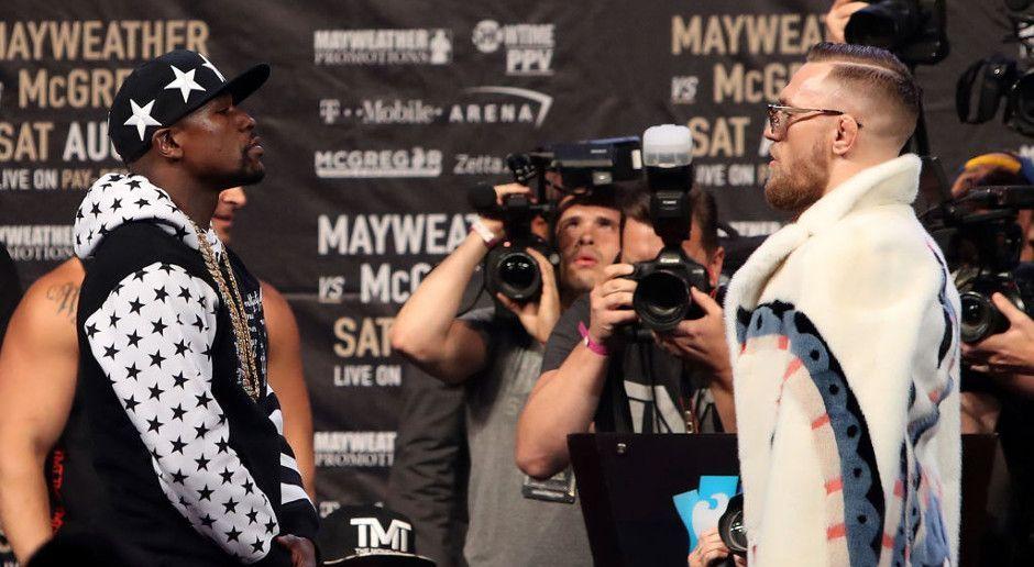 Mayweather vs. McGregor – die kuriosesten Wetten - Bildquelle: Getty Images