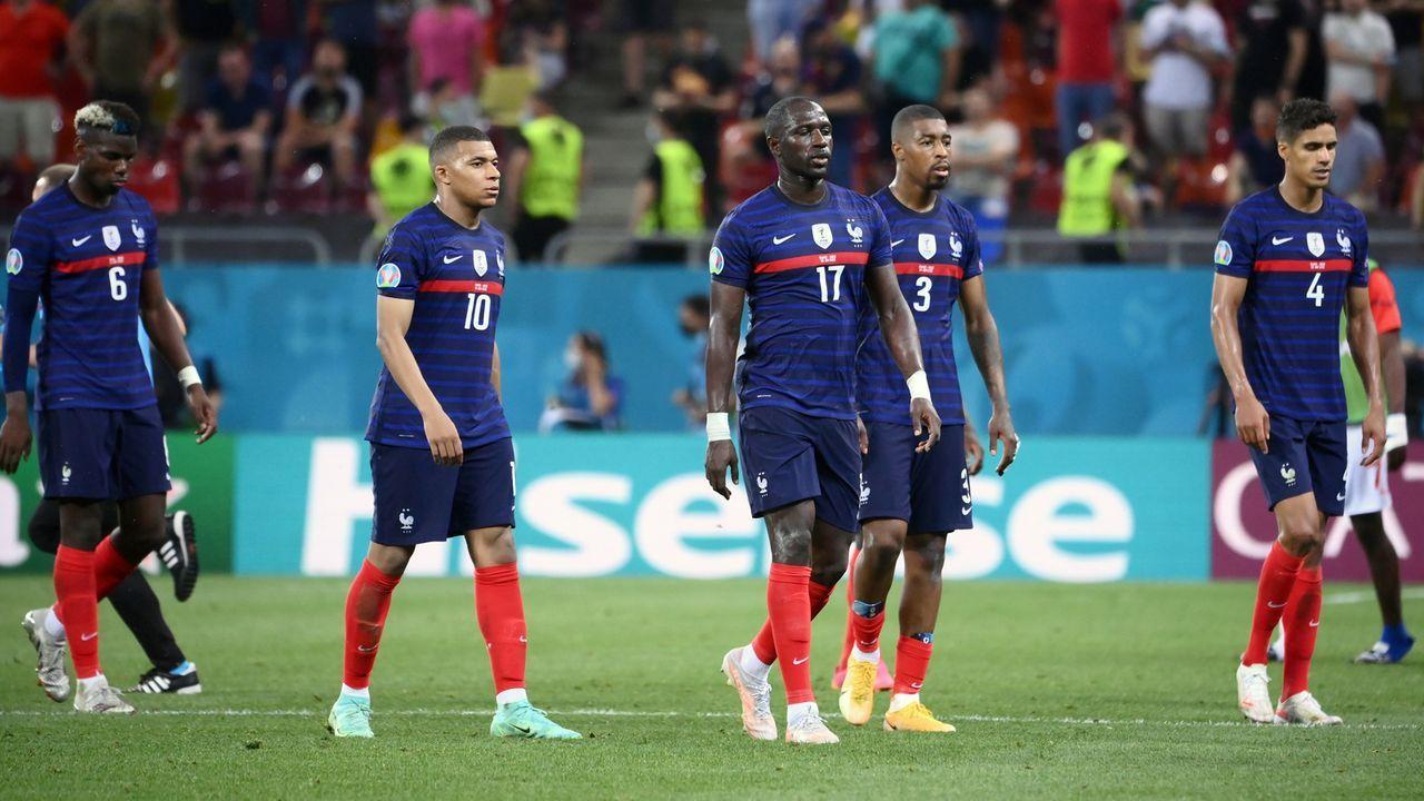 Verlierer: Weltmeister Frankreich tritt nicht wie ein Team auf - Bildquelle: 2021 Daniel Mihailescu - Pool