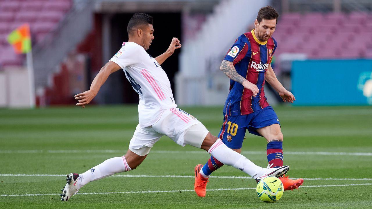 El Clásico zur Spitzenzeit: Der spannende Meisterschaftskampf in Spanien - Bildquelle: Getty Images