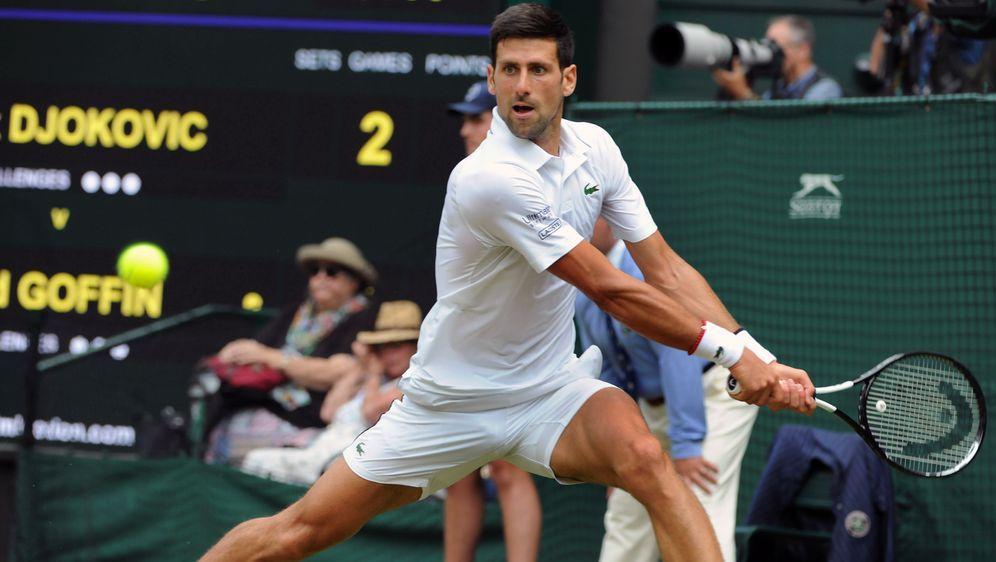 Djokovic steht nach Erfolg über Goffin im Halbfinale - Bildquelle: Imago