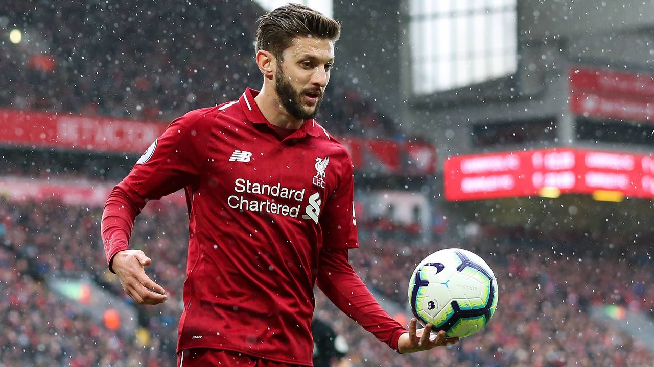 9. Platz: Adam Lallana (Liverpool) - Bildquelle: imago images / Sportimage